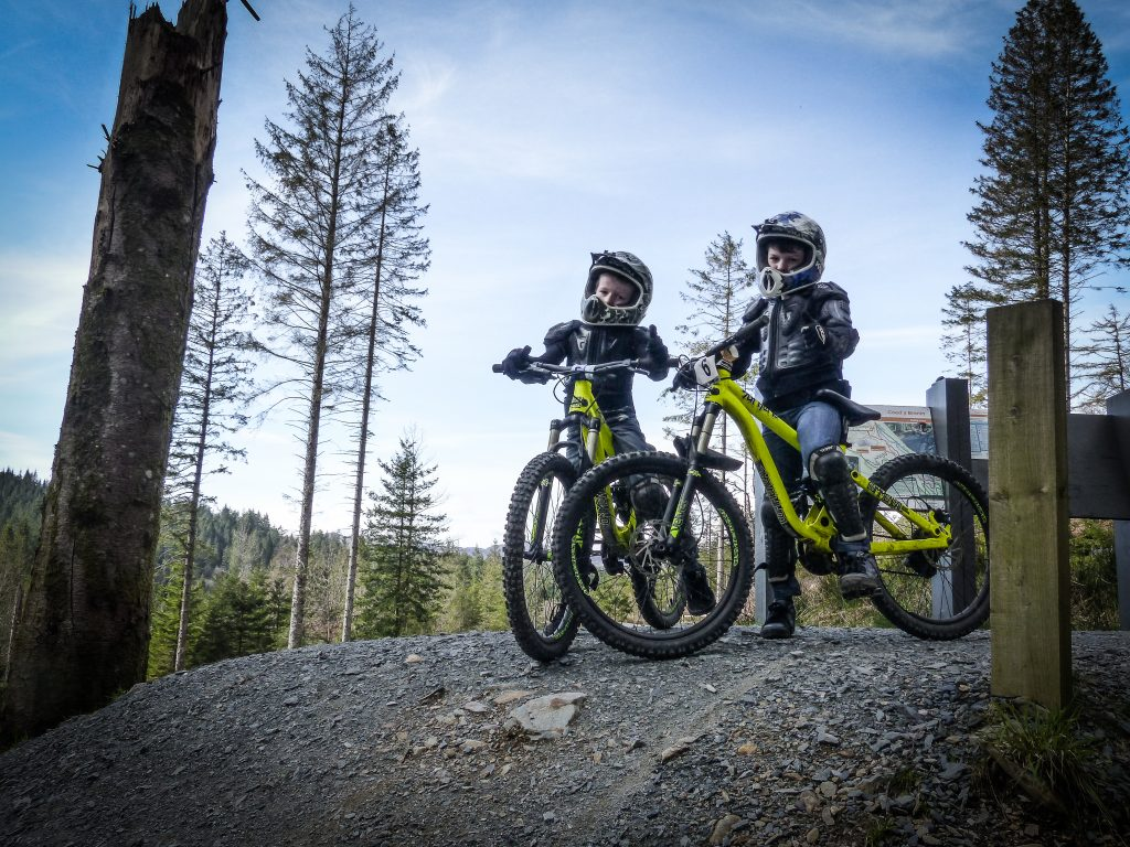The mini mountain bikers head to wales mountain bike wales for How to buy a mountain