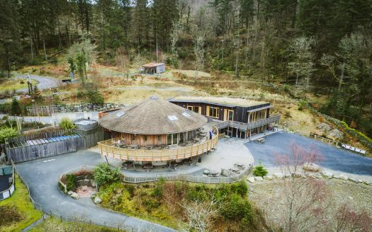 Coed y Brenin Mountain Bike Centre in Wales