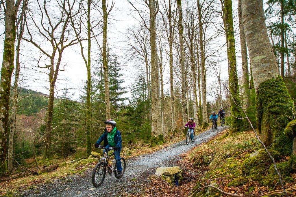 Kids Mountain Biking Wales