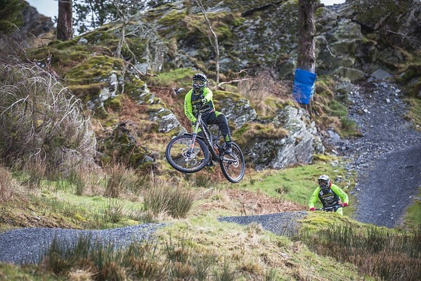 Antur Stiniog Bike Park Air time