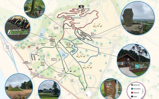 *Margam Park trail map